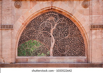 Sidi Saiyyed Mosque popularly known as this built in 1572 AD, is one of the most famous mosques of Ahmedabad, Gujarat, India As attested by the marble tablet fixed on the wall of the mosque