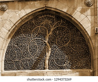 The Sidi Saiyyed Mosque, popularly known as Sidi Saiyyid ni Jali locally  is one of the most famous mosques of Ahmedabad, Gujarat, India