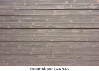 Siding exterior wall of wood grain