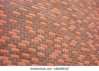 Siding outer wall like a brick
