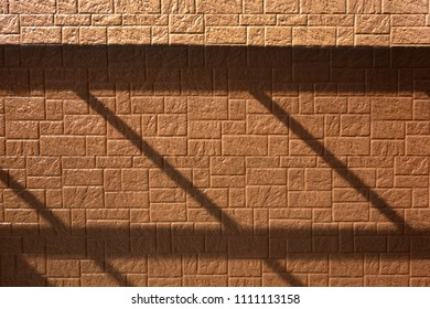 Siding outer wall and unique shadow