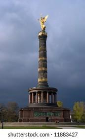 Siegessaule or victory tower in Berlin