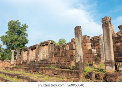 Siem Reap, Cambodia - Dec 11 2016: Pre Rup in Angkor. a famous Historical site(UNESCO World Heritage) in Angkor, Siem Reap, Cambodia.
