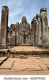Siem reap, Cambodia. - DEC 21:2012. Bayon Temple ancient in Southeast Asia.