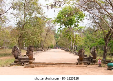 Siem Reap, Cambodia - Mar 07 2018: Beng Mealea in Siem Reap, Cambodia. It is part of Angkor World Heritage Site.