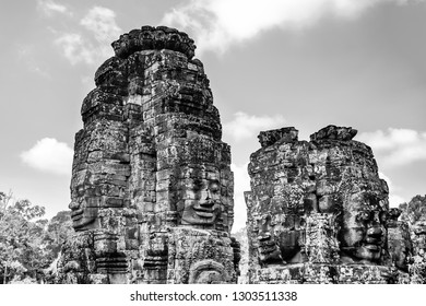 SIEM REAP, CAMBODIA: THE SERENITY OF STONE FACES