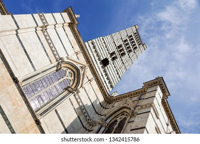 Siena Cathedral . is a medieval church, now dedicated to the Assumption of Mary, completed between 1215 and 1263, Siena, Italy