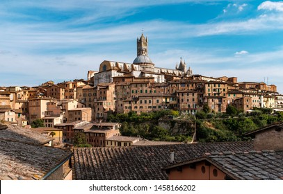 Siena is a popular tourist destination in Tuscany, Italy