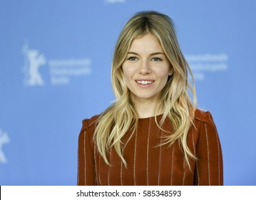 Sienna Miller attends the 'The Lost City of Z' photo call during the 67th Film Festival Berlin at Grand Hyatt Hotel on February 14, 2017 in Berlin, Germany.