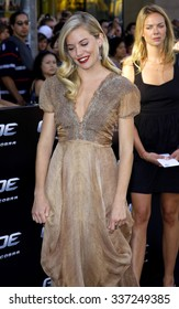 """Sienna Miller at the Los Angeles premiere of """"G.I. Joe: The Rise Of The Cobra"""" held at the Grauman's Chinese Theatre in Hollywood, California, United States on August 6, 2009."""