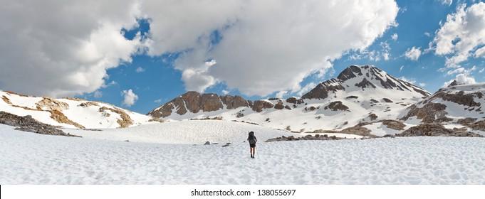 Sierra Nevada Adventure Panorama, California, USA