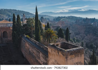 The Sierra Nevada from the Alhambra