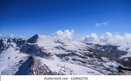 Mulhacén, Sierra Nevada, Andalusia, Spain - Shutterstock ID 1268062726