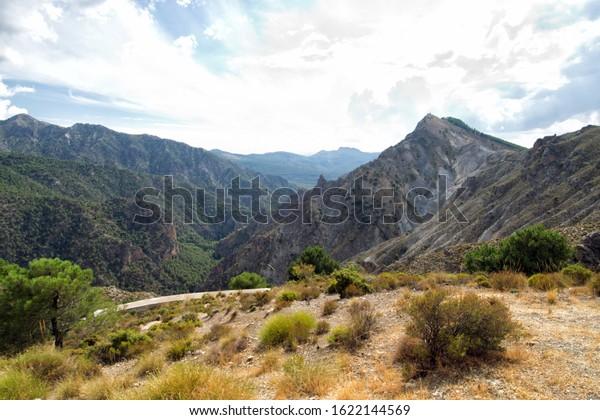 Sierra Nevada mountain range. Spain.