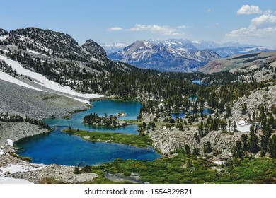 The Sierra's in July on the Pacific Crest trail