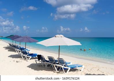 Siesta Ket Beach, Sarasota, Florida, USA. August 16 2016: Boy in the beach, Siesta Key, USA.