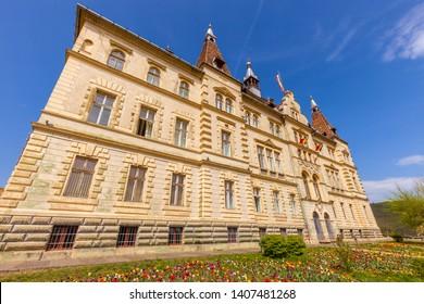 Sighisoara City Hall. Sighisoara, Mures County, Romania.