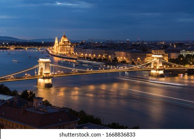 Sight at Budapest during Night