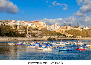 Sight of the City of Sines and the Beach Vasco of Gamma, Alentejo, Portugal