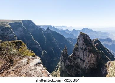Sight of Funil Canyon at Bom Jardim da Serra - SC - Brazil