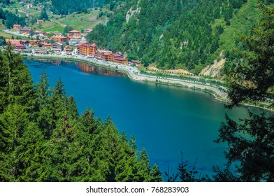 Sight of Trabzon Uzungol (Long Lake)