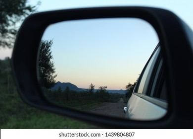 SIGHTING VIEW FROM THE MIRROR