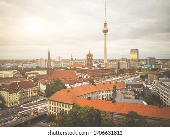 Sightseeing of Berlin viewed from above