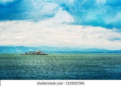 Sightseeing cruise at Lake Constance Harbor, Germany
