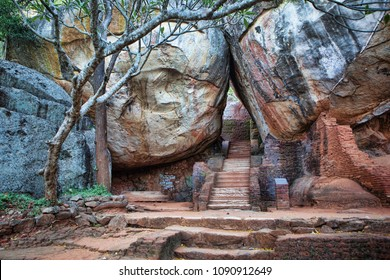 Sigiriya is an ancient rock fortress located in the northern Matale District near the town of Dambulla in the Central Province, Sri Lanka. Sigiriya Rock