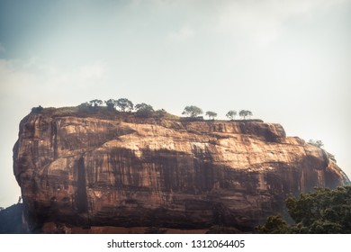 Sigiriya Lion rock mountain unesco landmark Sri Lanka