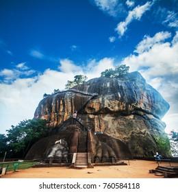 Sigiriya rock fortress Dambulla, Sri Lanka