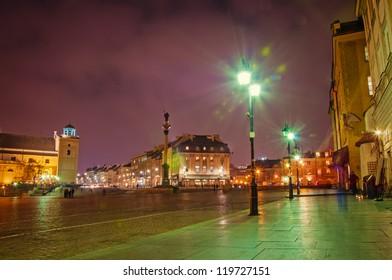 Sigismund's Column in Warsaw, Poland.