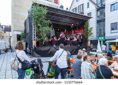 Sigmaringen,Germany- June 23rd, 2018:City Festival in Sigmaringen,Germany