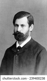Sigmund Freud (1856-1939), in 1885, when he was training as a psychiatrist at General Hospital in Vienna.