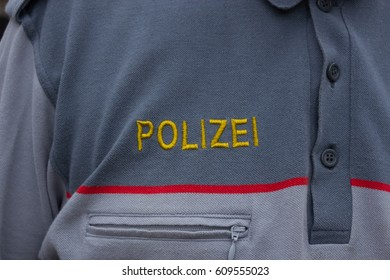 sign of the austria federal police