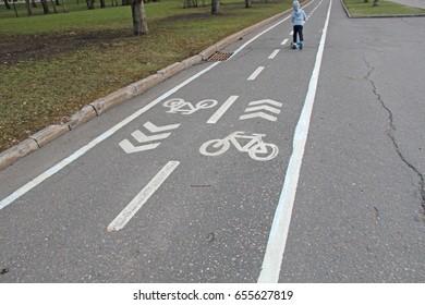 Sign bikeways