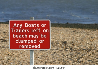Sign, Boats & Trailers