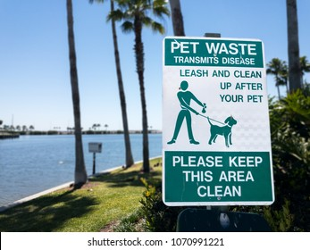 Sign to Clean Up After Your Pet