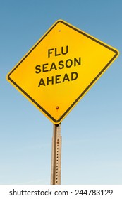 sign: Flue Season Ahead