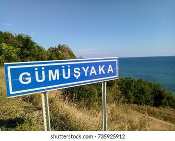 Sign gumusyaka