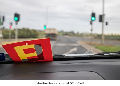 Sign of learner - driver in Australia