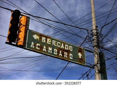 Sign in Mexico
