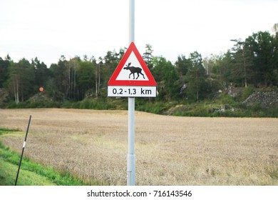 sign for moose
