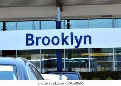 Sign with the name Brooklyn