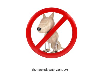 Sign no dogs