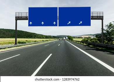 Sign on Highway
