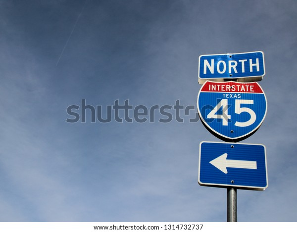 Sign with road number