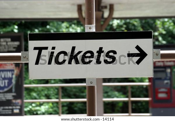 sign for tickets