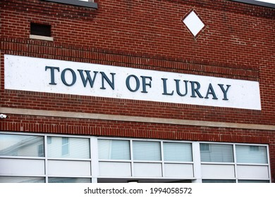 Sign in the town of Luray Virginia