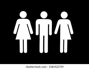 Sign women, men and transgender